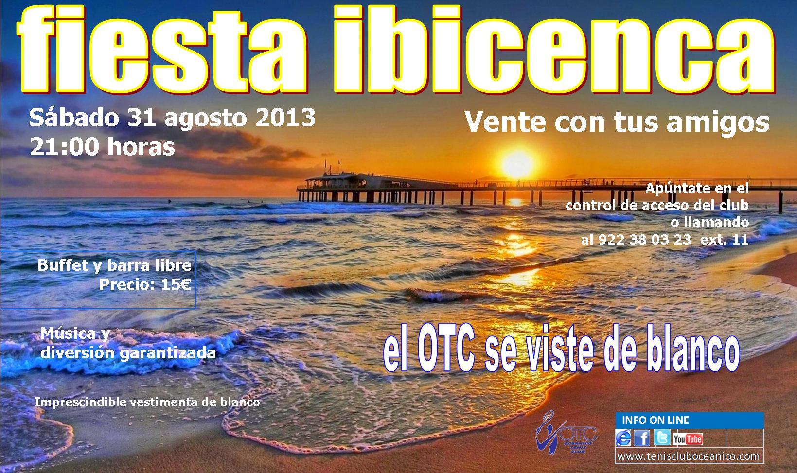 Fiesta ibicenca s bado 31 de agosto - Fiesta ibicenca ...