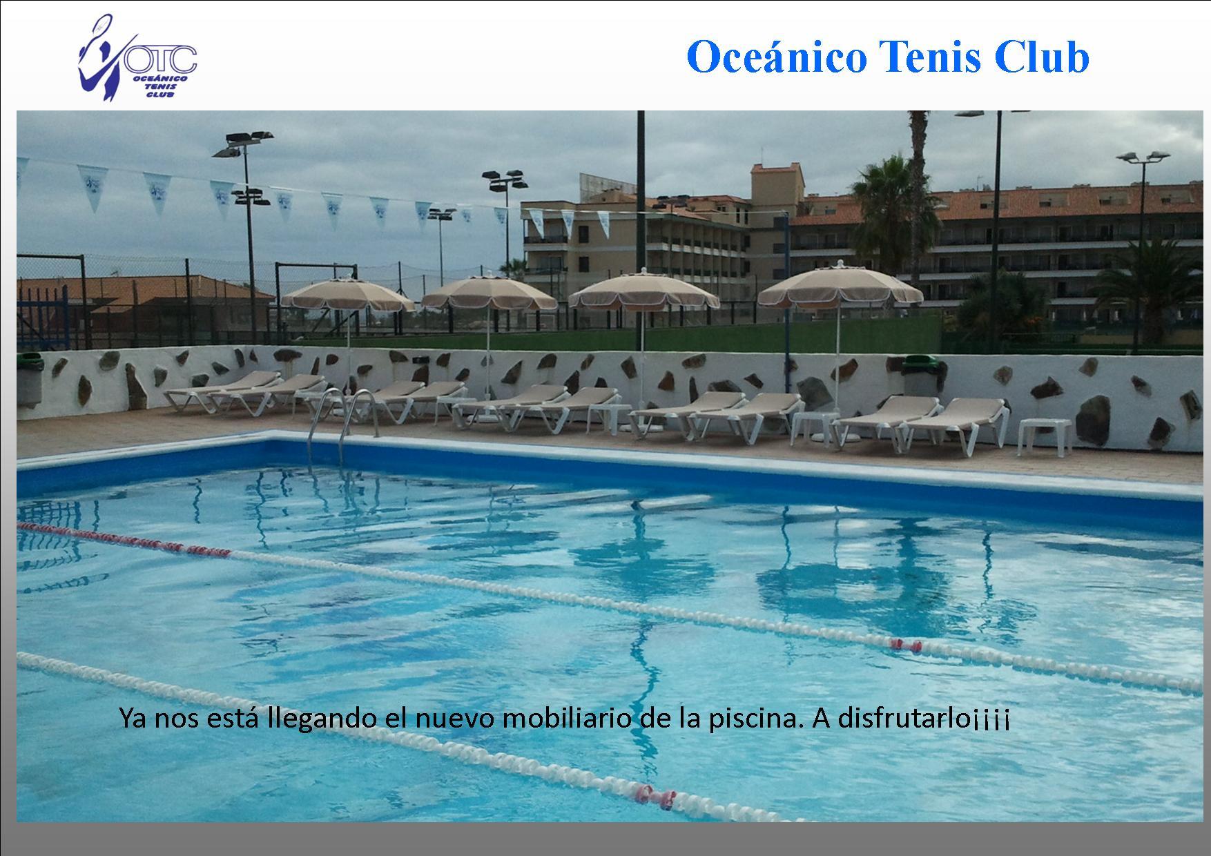 Nuevo mobiliario para la piscina for Mobiliario piscina